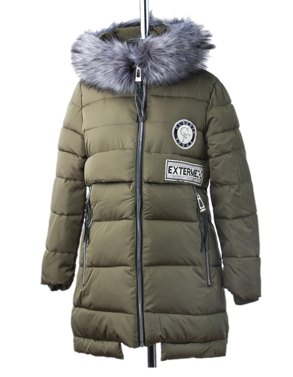 Хетти куртка зимняя (хаки)