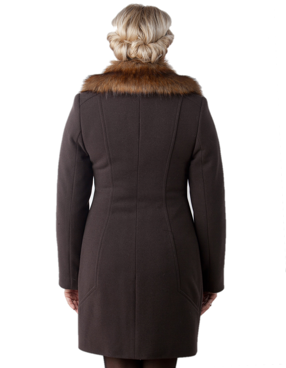 751ee45c188 Бренд пальто зимнее шоколад - купить цена фото оптом