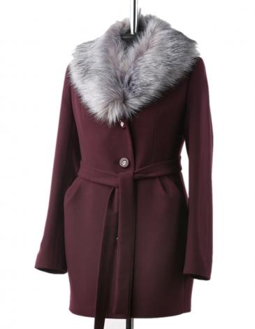 Злата пальто зимнее (гранат)