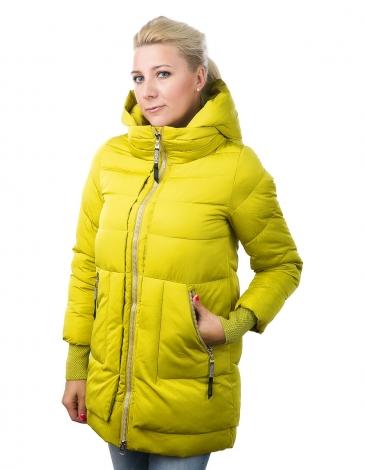 Боня куртка зимняя (лайм)