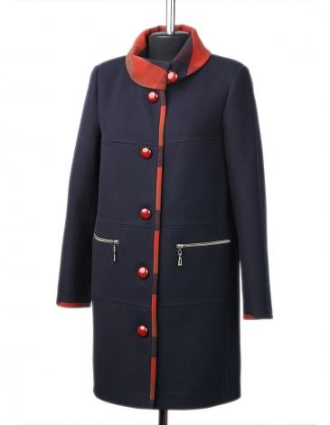 Рема демисезонное пальто ( клетка )