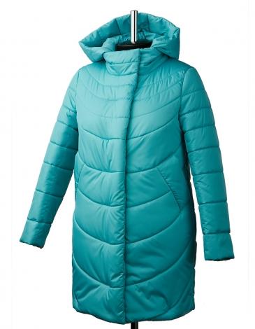 Барбара куртка зимняя ( бирюза )