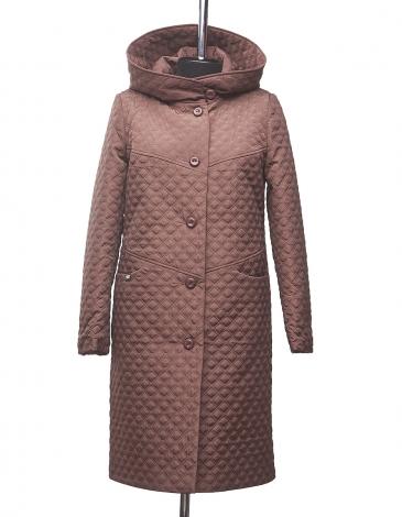 Юна  демисезонное стеганное пальто