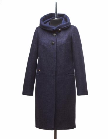 Азалия утепленное пальто ( синие )