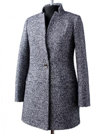 Манго демисезонное пальто (твид)