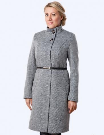 Ева пальто твид