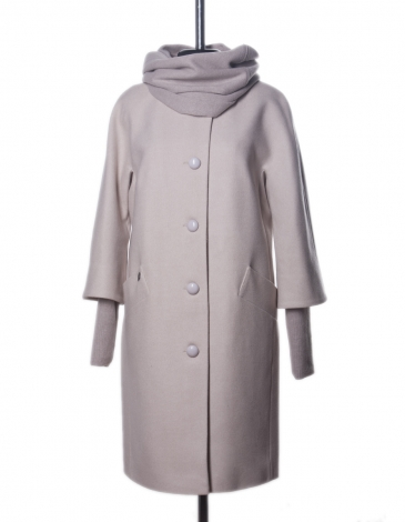 Кристина  демисезонное пальто   (бежевый )