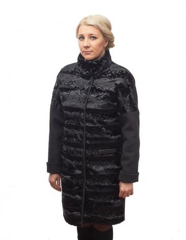 Виолетта утепленное пальто