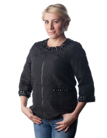 Ирис д/c куртка черная