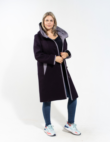 Линси демисезонное пальто .