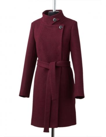 Белла демисезонное пальто ( бордо )