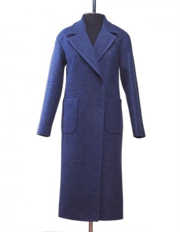 Моника  демисезонное пальто  ( синий )
