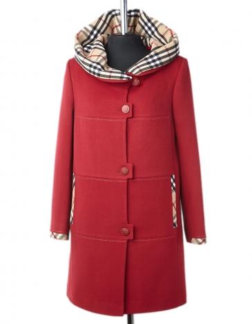 Сальма демисезонное пальто (клетка бурбари)