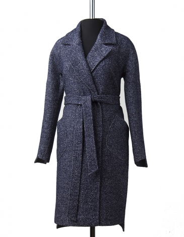Элит  демисезонное пальто  ( синий)
