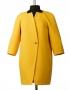 Рокси  демисезонное пальто  (желтое )