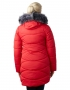 Регина  куртка зимняя (красная )
