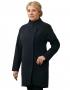 Лузана  демисезонное пальто ( синий )