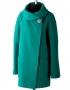 Паола демисезонное пальто (изумруд)
