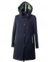 Сальма утепленное пальто ( синий + зел)