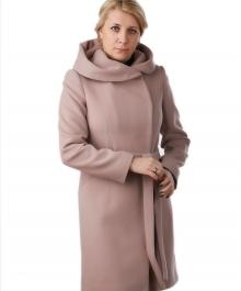 Москвичка демисезонное пальто  (бежевый )