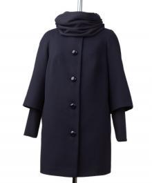 Соната демисезонное пальто ( синий )