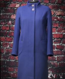 Тренд демисезонное пальто (василек)
