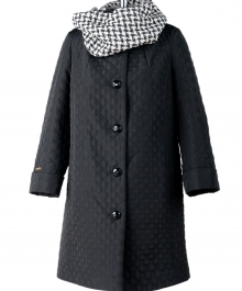 Марта стеганное пальто