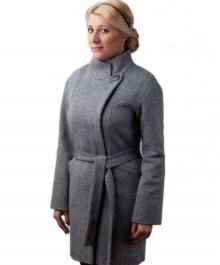 Вояж демисезонное пальто (твид)