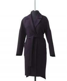 Элит  демисезонное пальто  (баклажан )