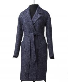 Элит  демисезонное пальто 1 ( синий)